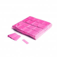 Slowfall UV confetti 55x17mm - Fluo Pink / Bulk Bag 1KG