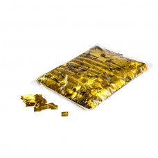 Metallic confetti squares 17x17mm - Gold / Bulk Bag 1KG