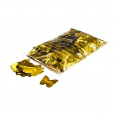 Metallic confetti butterflies Ø 55mm - Gold / Bulk Bag 1KG