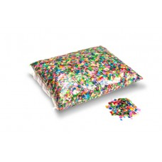 Partyfetti 6x6mm - Multicolour / Bulk Bag 1KG