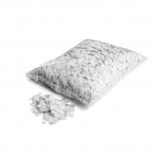 Slowfall snow confetti 10x10mm - White / Bulk Bag 1KG