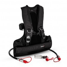 CO2 Back Pack  Set  (incl. bottle-hose connector, hose 1.25m)