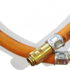 Propane gas  hose 10m. incl. quick connector male/female