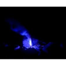 Blaue Bengalflamme