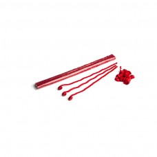 Streamers 5m x 0.85cm - Red / Polybag, 100  streamers