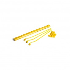 Streamers 5m x 0.85cm - Yellow / Polybag, 100  streamers
