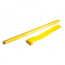 Streamers 10m x 5cm  - Yellow / Polybag, 10 streamers