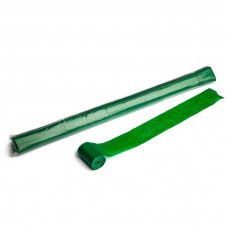 Stadium Streamers 20m x 5cm  - Dark Green / Polybag, 10 streamers