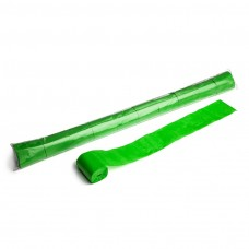 Stadium Streamers 20m x 5cm  - Light Green / Polybag, 10 streamers