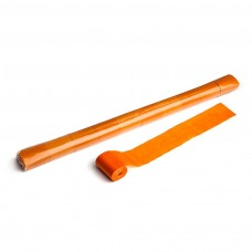 Stadium Streamers 20m x 5cm  - Orange / Polybag, 10 streamers