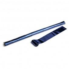 Metallic streamers 10m x 5cm  - Blue / Polybag, 10 streamers