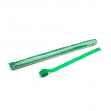 Stadium Streamers 20m x 2.5cm - Dark Green / Polybag, 20 streamers