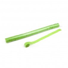 Stadium Streamers 20m x 2.5cm - Light Green / Polybag, 20 streamers