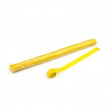 Stadium Streamers 20m x 2.5cm - Yellow / Polybag, 20 streamers