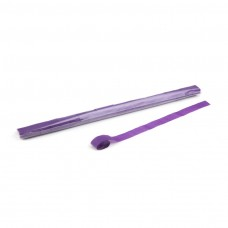 Streamers 10m x 2.5cm - Purple / Polybag, 20 streamers