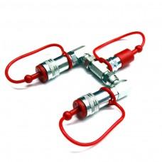 MIETE CO2 Splitter (1 Flasche - 2 CO2 Jets)