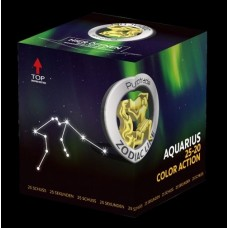 Color Action - Aquarius - Zodiac line